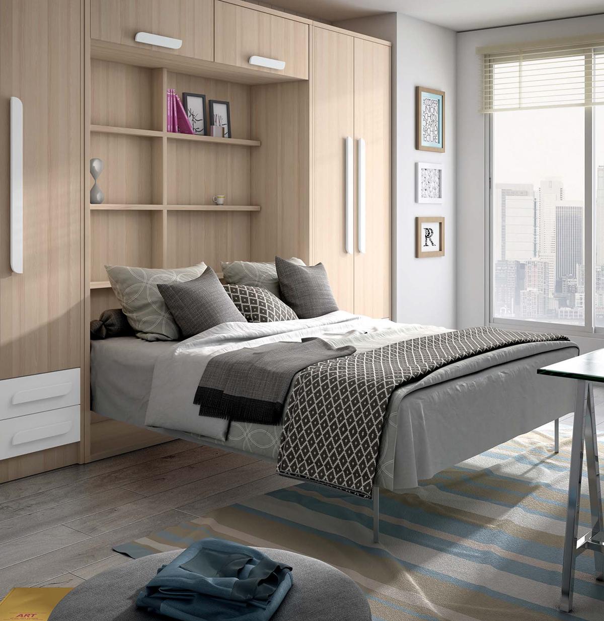 Diferentes estilos de dormitorios en nuestra muebler a en for Muebles juveniles asturias