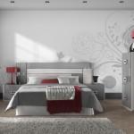 Amueblamiento dormitorio cabezal luz led mesitas xinfonier y espejo
