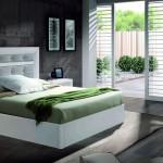 Amueblamiento dormitorio cama cabezal tapizado mesitas canapé xinfonier y espejo.jpg