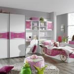 Mueble juvenil armario corredera y zona de estudio libreria