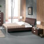Amueblamiento dormitorio diseño cama mesitas xinfonier