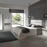 Dormitorio cabezal con luz mesitas xinfonier y espejo vestidor
