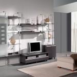 Mueble salón diseño para televisión estantería