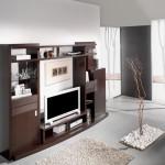 Mueble salón para televisión libreria y expositor