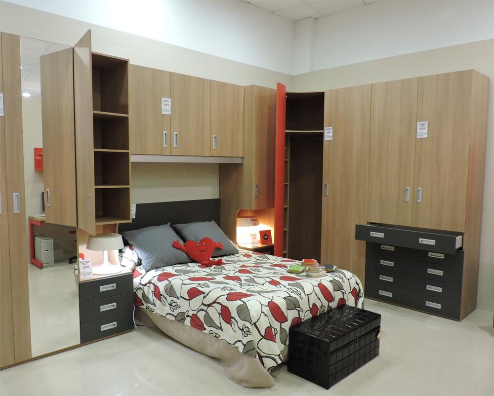 Armario o vestidor qu prefieres mobelpark tienda for Muebles juveniles asturias