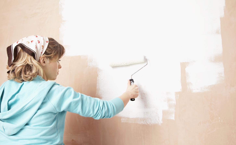 Paredes en blanco c mo pintarlas sus ventajas y sus - Pintar paredes blancas ...