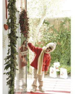 Idea decoración pra Navidad